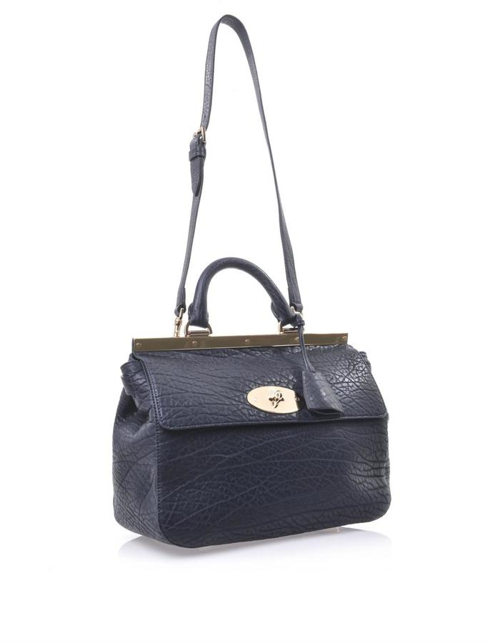 Mulberry Suffolk shrunken leather tote