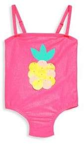 Billieblush Baby's & Toddler's Pineapple One-Piece Swimsuit