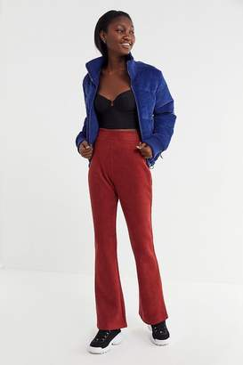 Urban Outfitters Britney Suede High-Rise Flare Pant