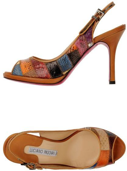 Luciano Padovan Platform sandals