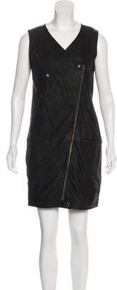 MM6 MAISON MARGIELA Leather Mini Dress w/ Tags