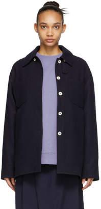 Acne Studios Navy Odenna Jacket