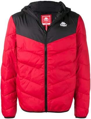 Kappa two-tone puffer jacket