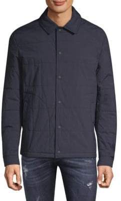 Belstaff Quilted Long-Sleeve Jacket