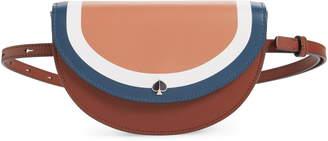 Kate Spade Andi Stripe Small Half-Moon Belt Bag