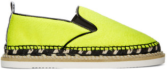 Kenzo Yellow Kasual Espadrilles $275 thestylecure.com