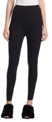 Alexander Wang Invisible Zip High Waist Leggings