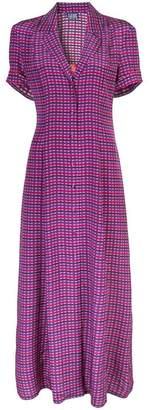 Lhd gingham shirt dress