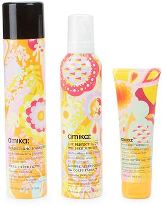 Amika Texture Styling Three-Piece Hair Kit