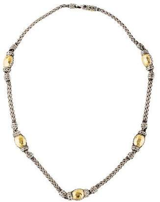 John Hardy Two-Tone Palu Station Necklace