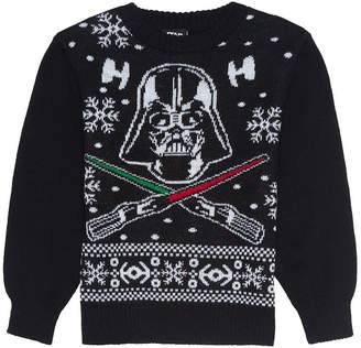Star Wars Novelty T-Shirts Christmas Sweaters Crew Neck Long Sleeve Pullover Sweater
