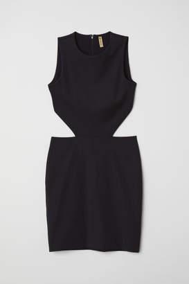 H&M Cut-out Dress - Black