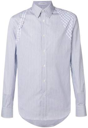 Alexander McQueen striped button shirt
