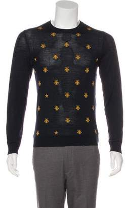 17addcf405ef Gucci Bee Sweater - ShopStyle