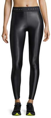 Koral Activewear Aden Mid-Rise Figure-Forming Leggings