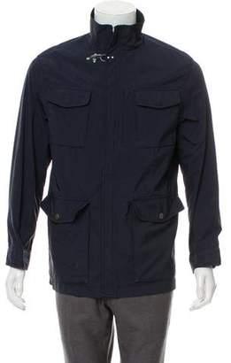 Fay Lightweight Zip-Up Jacket
