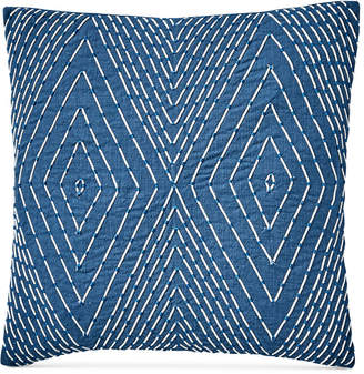 "Lucky Brand Soutash 20"" x 20"" Decorative Pillow, Created for Macy's Bedding"