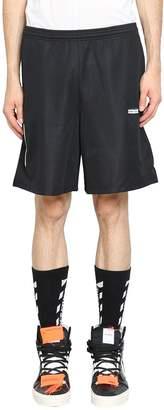 Off-White Basic Logo Mesh Shorts