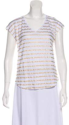 Lilly Pulitzer Linen Patterned Top