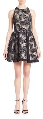 Alice and Olivia Racerback Fit & Flare Party Dress $368 thestylecure.com