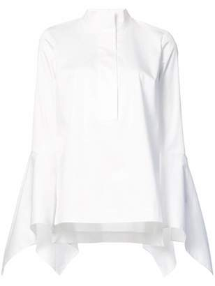 Zac Posen Prita flared blouse