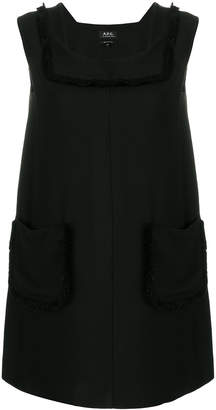 A.P.C. oversized pockets dress