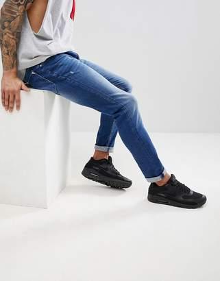 Antony Morato Skinny Jeans In Blue Stone Wash