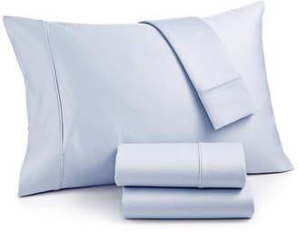 Aq Textiles Landry 1200 Thread Count Cotton 4-Pc. Queen Extra Deep Pocket Sheet Set Bedding