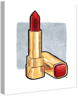 """Oliver Gal Red Lips Don't Lie Canvas Art, 20"""" x 24"""""""
