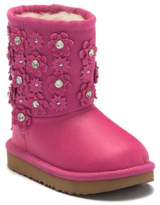 UGG Classic Short II Petal UGGpureTM Lined Boot (Toddler & Little Kid)