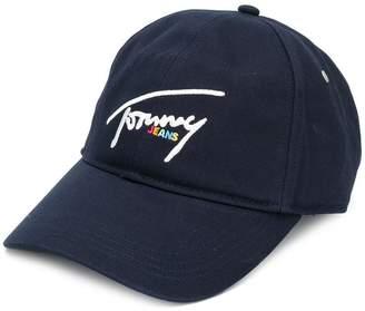 Tommy Hilfiger contrast logo baseball cap 9c3bfb774ae