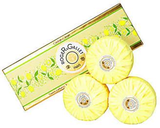Roger & Gallet Citron Perfumed Soaps Set Of Soaps 3X100G