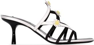Fabrizio Viti Gardner 65 flower detail leather sandals