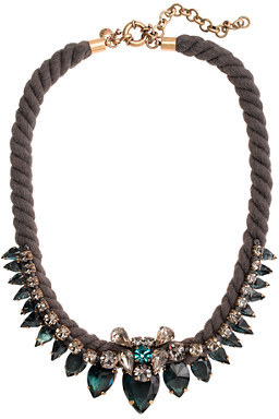J.Crew Spiky rope necklace