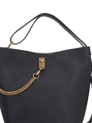 Gv Leather Bucket Bag