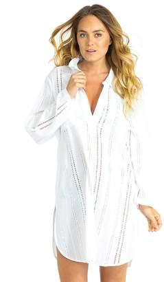 Sunseeker Medina Eyelet Beach Shirt