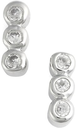Women's Jules Smith Triple Bezel Stud Earrings $35 thestylecure.com