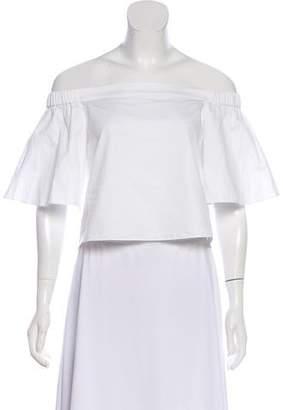 3dcdd88967b8 Tibi White Off Shoulder Tops For Women - ShopStyle Australia