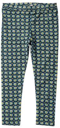 Mimi & Maggie Flower Stamp Leggings (Baby, Toddler, Little Girls, & Big Girls)