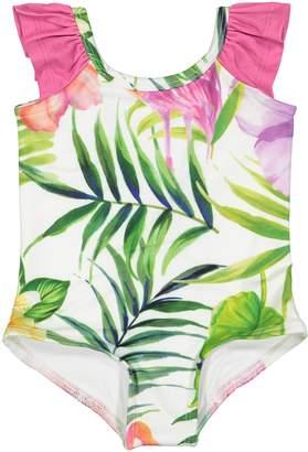 Masala Baby Flamingo Island Flutter One-Piece Swimsuit