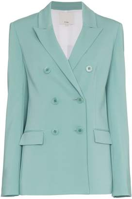 Tibi Steward Double Breasted Blazer