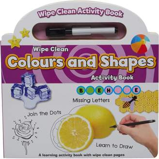 Colours And Shapes Wipe Clean Board