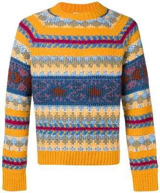 Acne Studios striped jacquard sweater