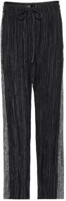 Haider Ackermann Plisse trousers
