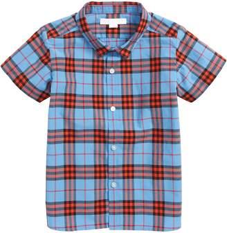 Burberry Clarkey Plaid Short Sleeve Shirt