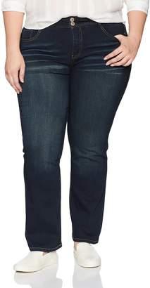 Angels Jeans Women's Plus Size Curvy Boot Jean