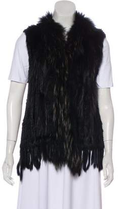 Fur Knit Vest