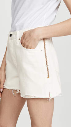 Alexander Wang Denim x Float Zip Shorts