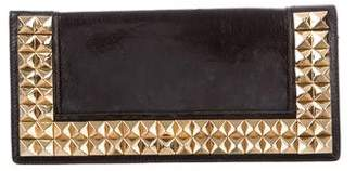 Tory Burch Studded Leather Clutch