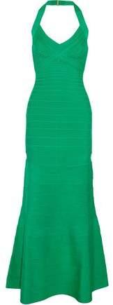Reanne Halterneck Bandage Gown